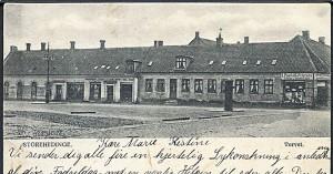 Torvet Store Heddinge 1906